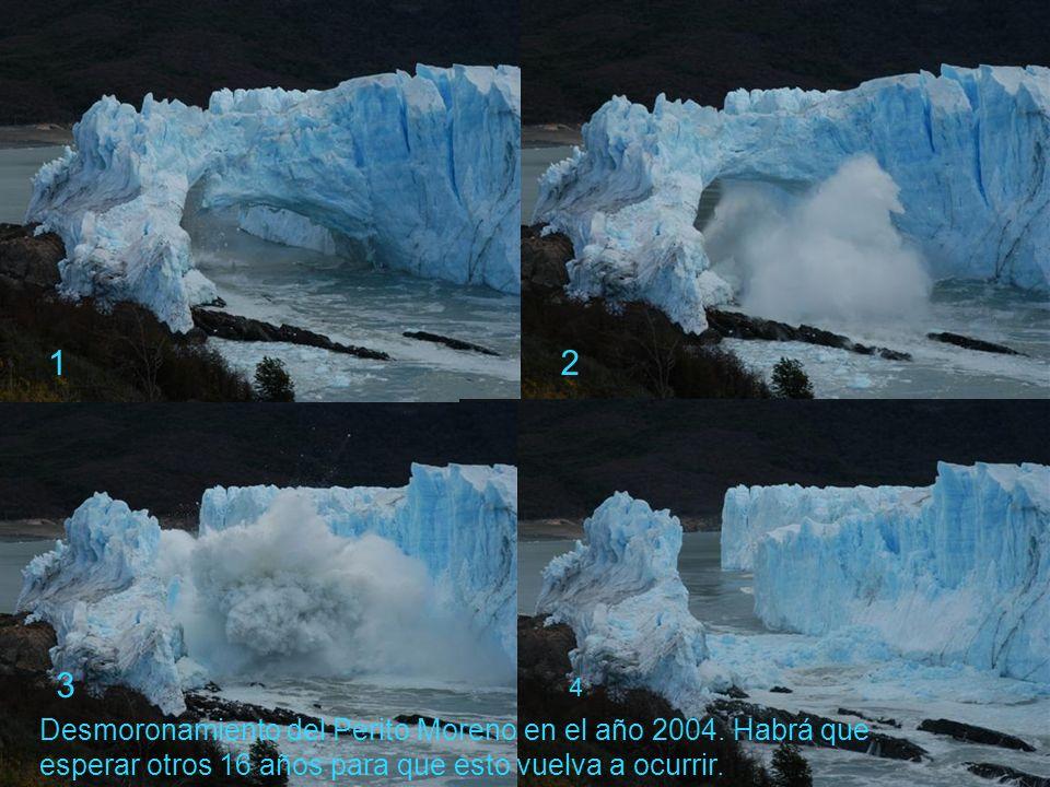Glaciar Perito Moreno, único glaciar continental que avanza y no retrocede.