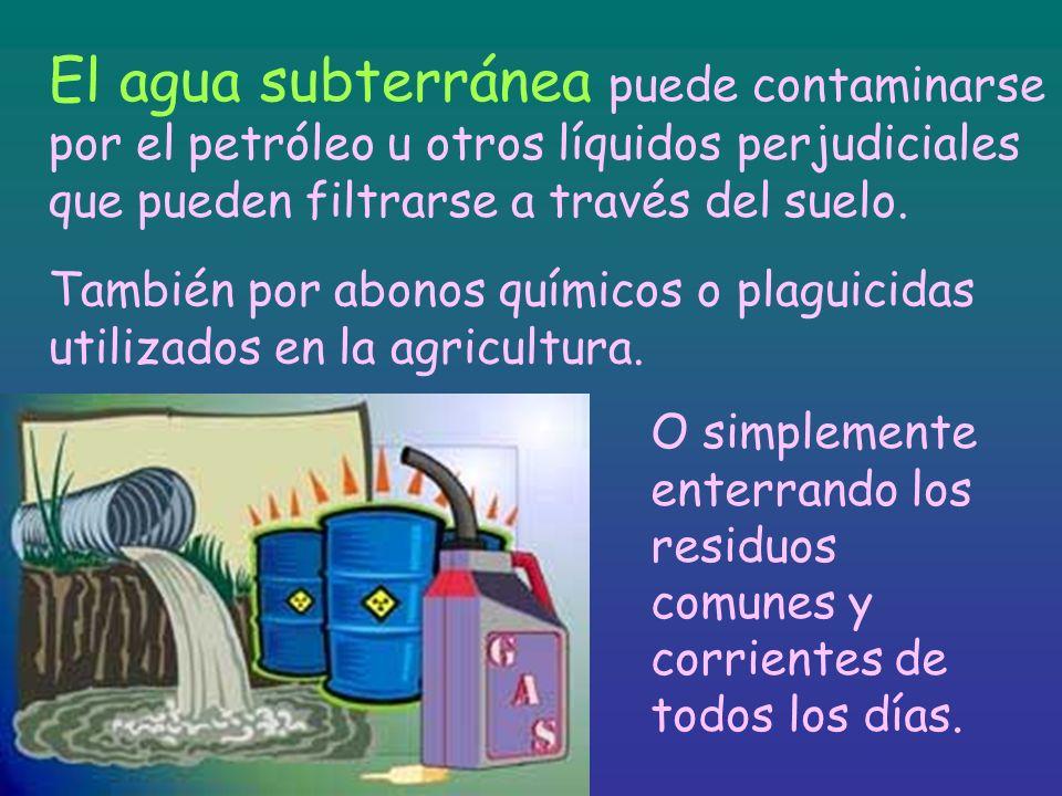 Contaminación de ríos, lagos y acuíferos. Hay que impedir que las industrias conviertan las riberas en canales de desagüe y que pagando una multa se c