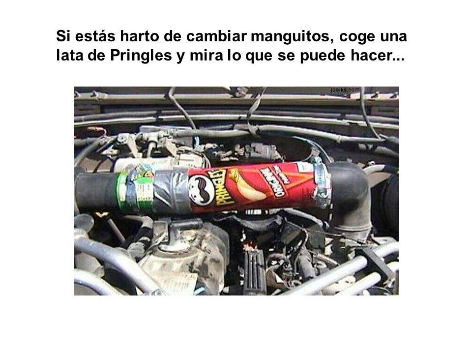 Si estás harto de cambiar manguitos, coge una lata de Pringles y mira lo que se puede hacer...