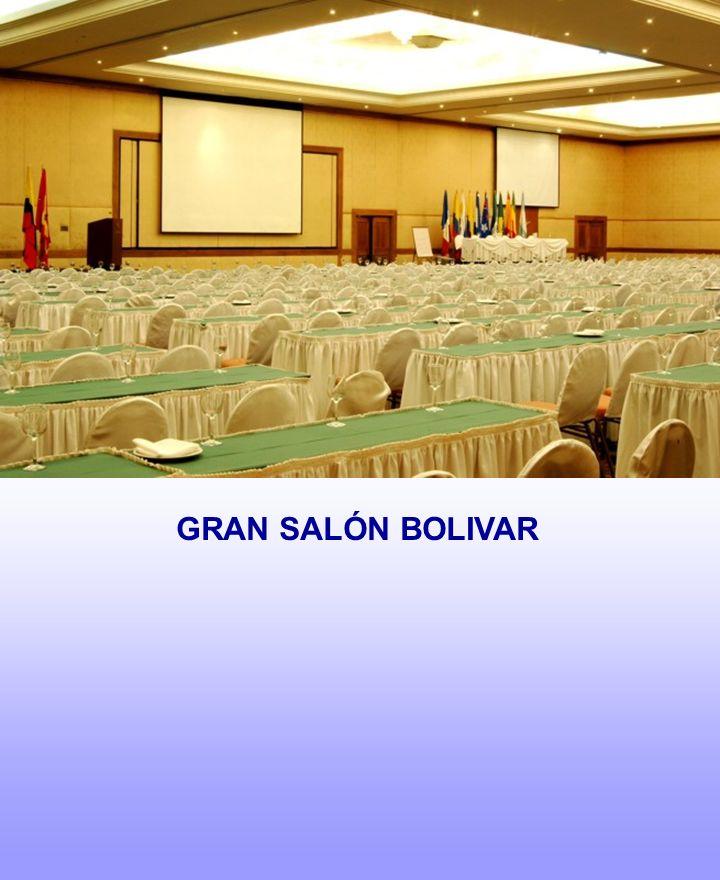 GRAN SALÓN BOLIVAR