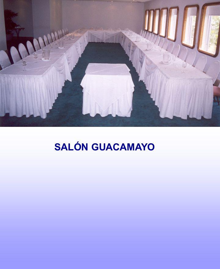 SALÓN GUACAMAYO