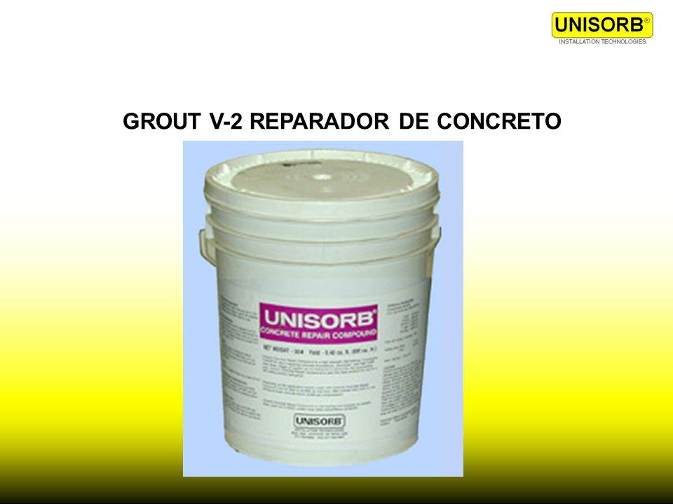 GROUT V-2 REPARADOR DE CONCRETO