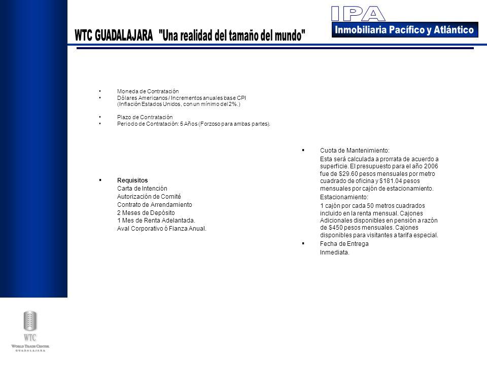Requisitos Carta de Intención Autorización de Comité Contrato de Arrendamiento 2 Meses de Depósito 1 Mes de Renta Adelantada. Aval Corporativo ó Fianz