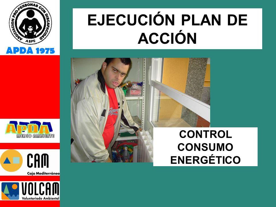 CONTROL CONSUMO ENERGÉTICO EJECUCIÓN PLAN DE ACCIÓN