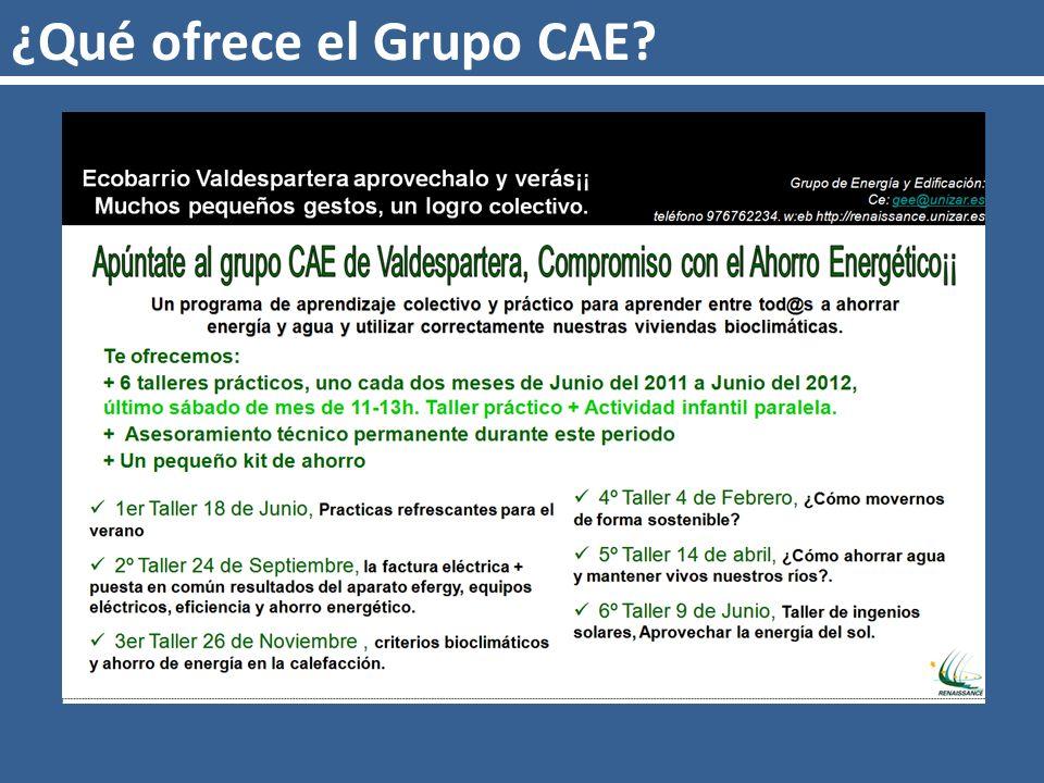 ¿Qué ofrece el Grupo CAE