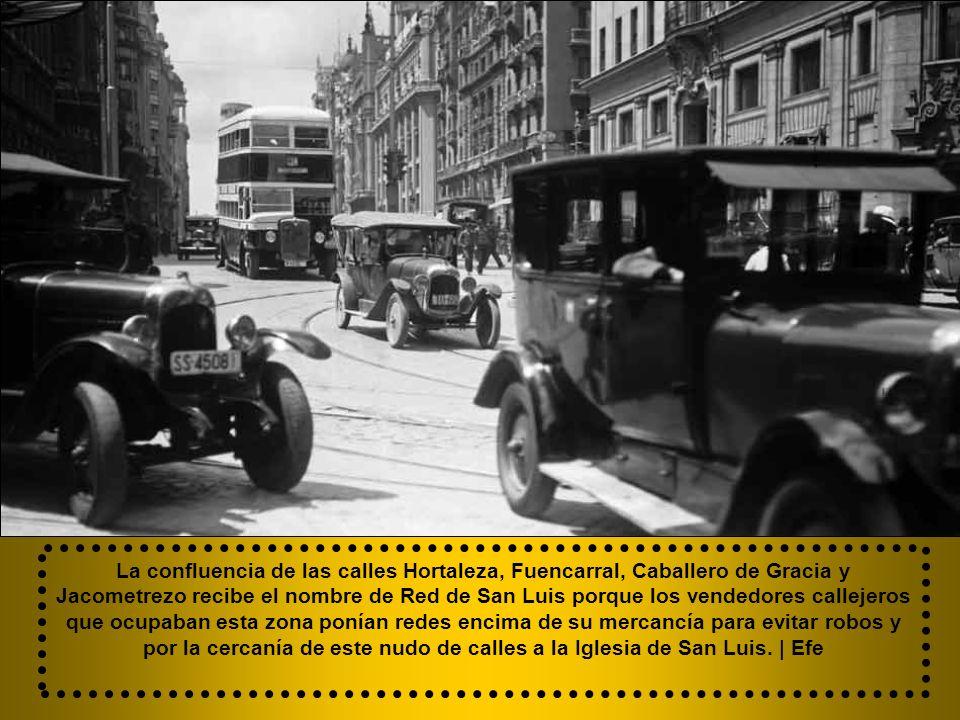 En 1922 el 1º tramo pasaría a llamarse Conde Peñalver