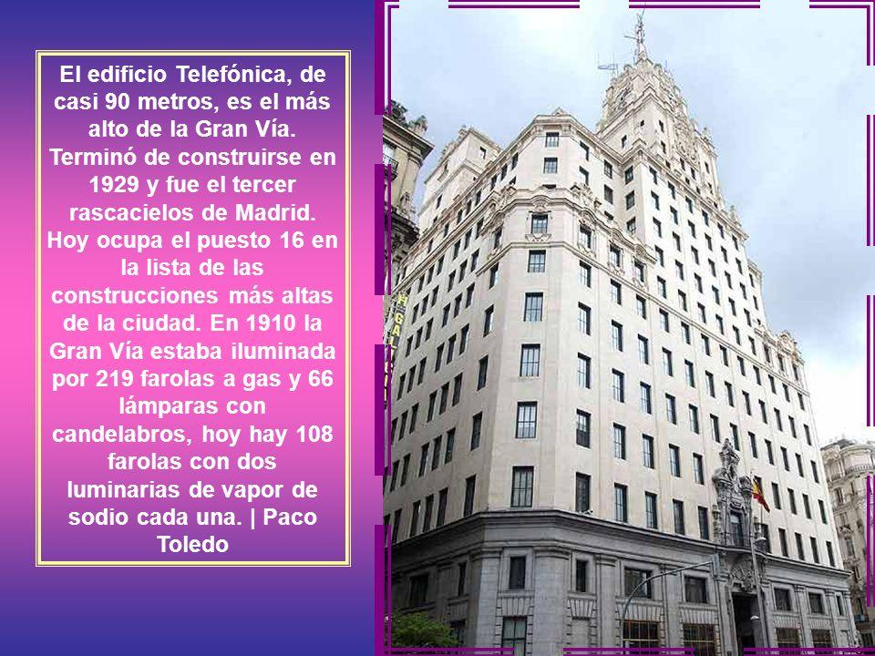 En 1924 abrieron sus puertas en Gran Vía 32 los grandes almacenes Madrid-París, los primeros de la capital que seguían la herencia francesa. Quebraron
