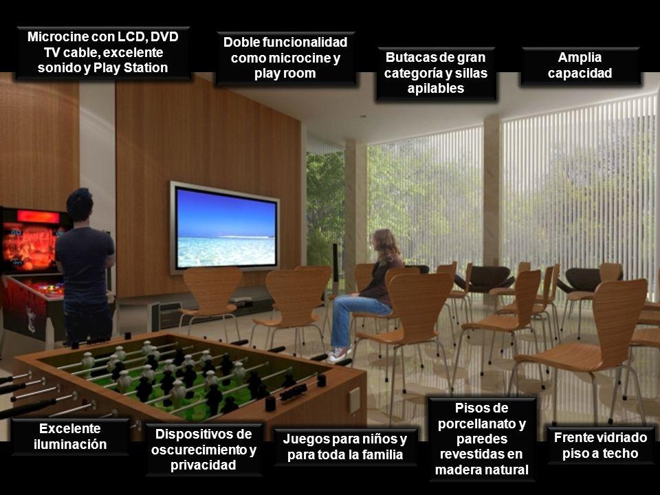 Dispositivos de oscurecimiento y privacidad Juegos para niños y para toda la familia Amplia capacidad Doble funcionalidad como microcine y play room E