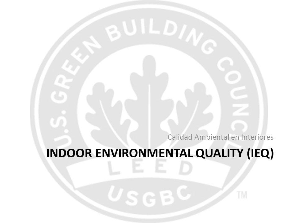 INDOOR ENVIRONMENTAL QUALITY (IEQ) Calidad Ambiental en Interiores