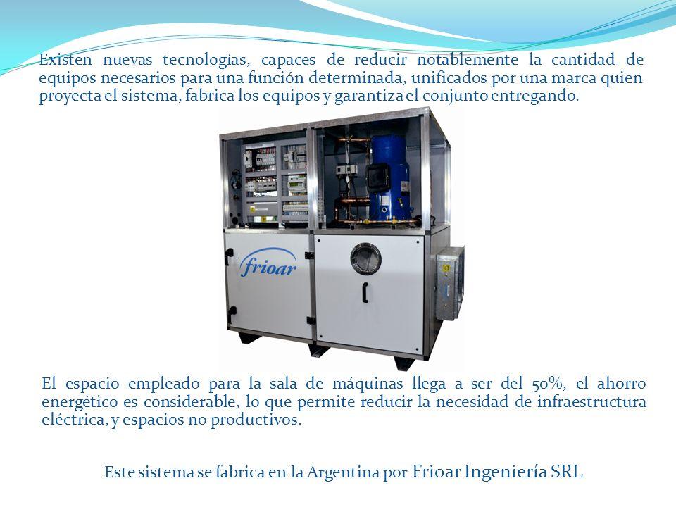 También puede encontrar más información de la empresa en www.frioar.com.ar Ver presentación: Frioar Institucion y productos Rev 8_13