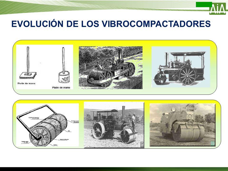 EVOLUCIÓN DE LOS VIBROCOMPACTADORES