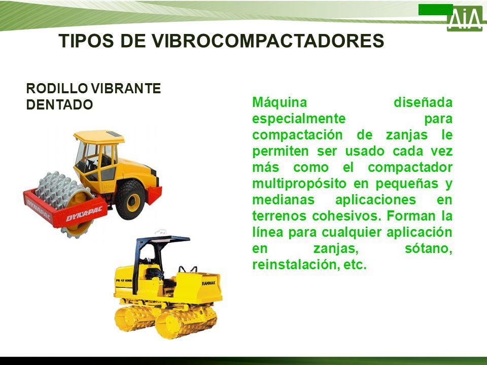 Máquina diseñada especialmente para compactación de zanjas le permiten ser usado cada vez más como el compactador multipropósito en pequeñas y mediana