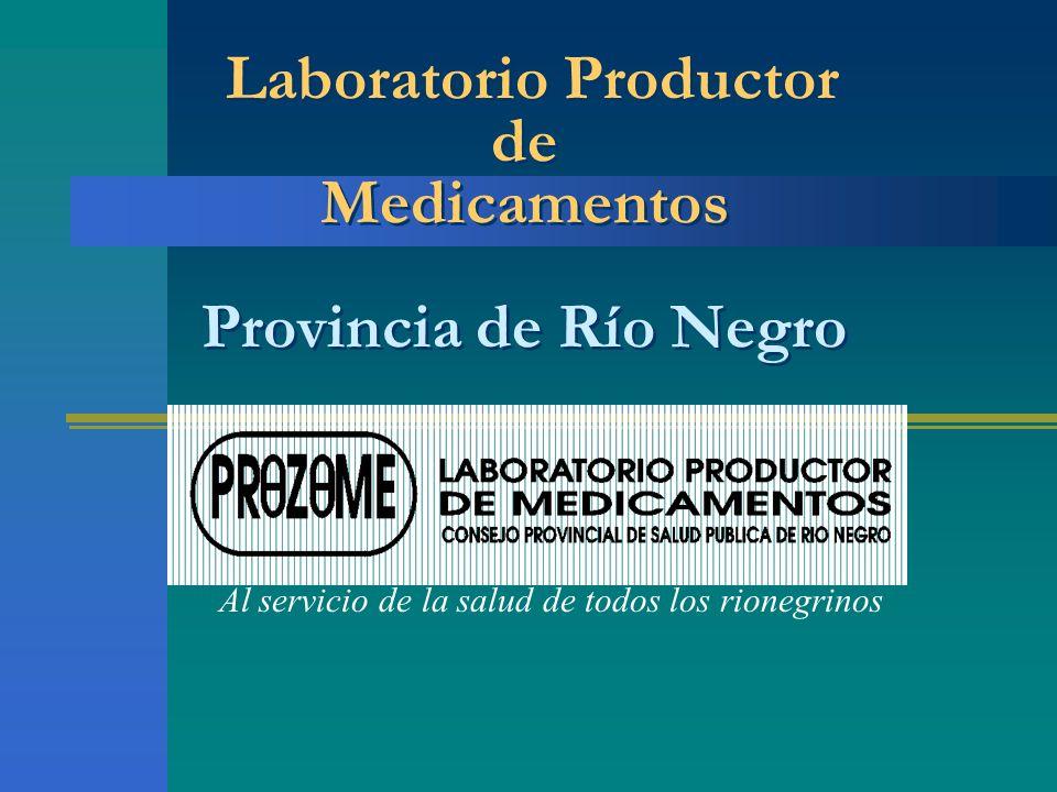 Breve reseña sobre la creación del Laboratorio PROZOME y logros alcanzados El Laboratorio Productor de Medicamentos PROZOME.