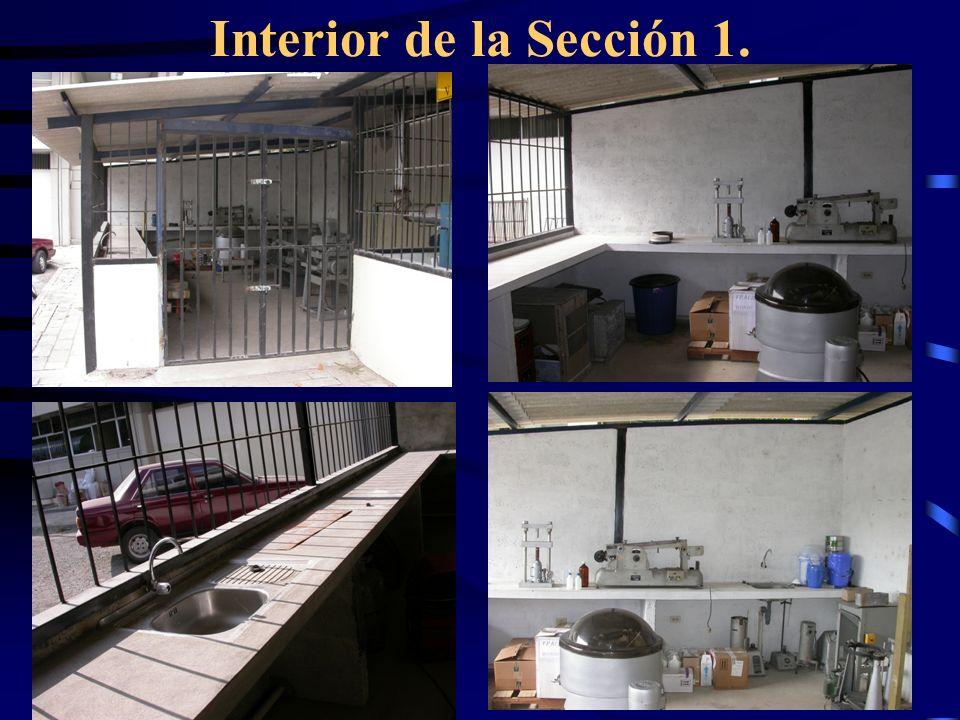 Interior de la Sección 1.