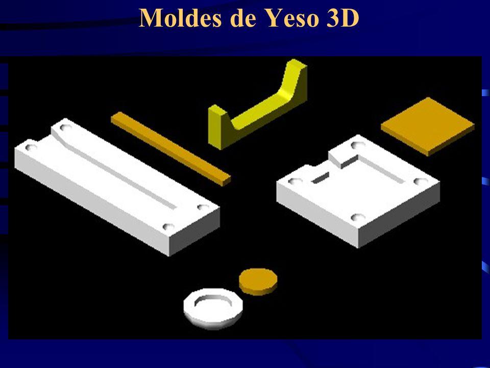 Moldes de Yeso 3D