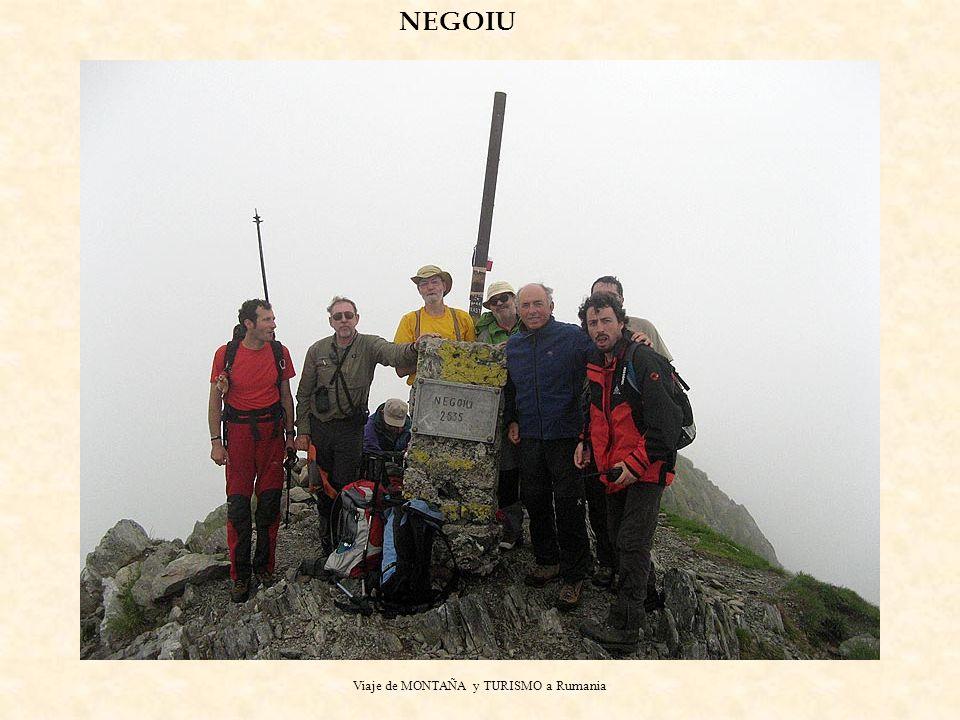 Viaje de MONTAÑA y TURISMO a Rumania NEGOIU
