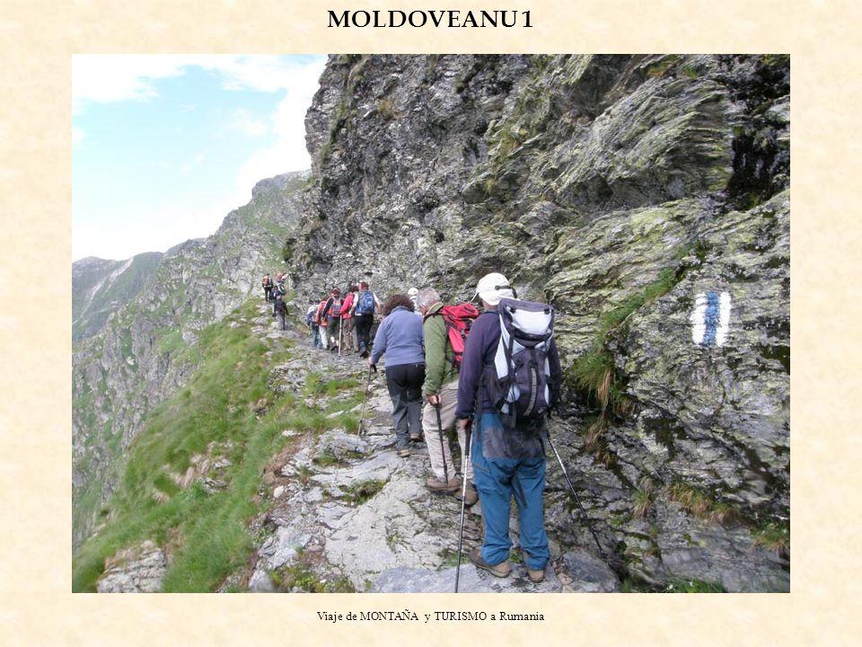Viaje de MONTAÑA y TURISMO a Rumania MOLDOVEANU 1