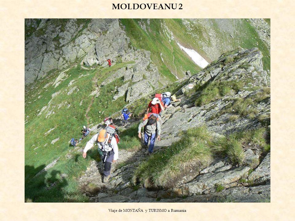 Viaje de MONTAÑA y TURISMO a Rumania MOLDOVEANU 2
