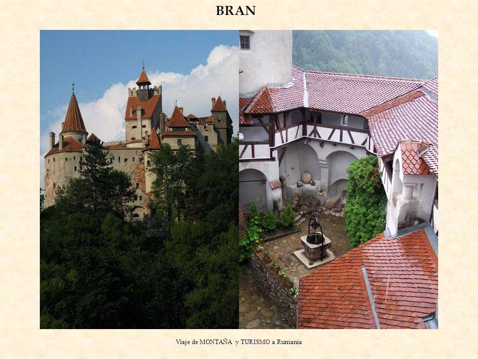 Viaje de MONTAÑA y TURISMO a Rumania BRAN