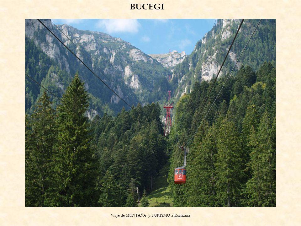 Viaje de MONTAÑA y TURISMO a Rumania BUCEGI