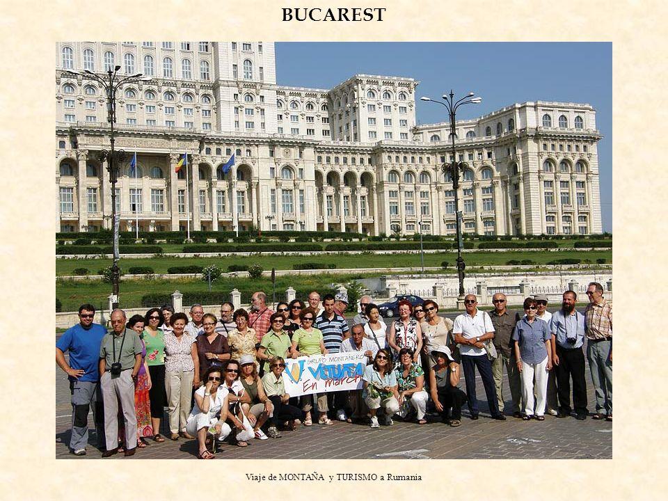 Viaje de MONTAÑA y TURISMO a Rumania BUCAREST