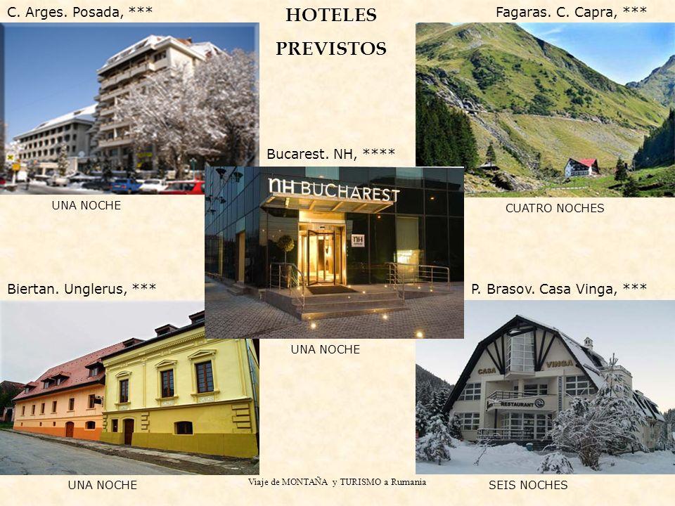 Viaje de MONTAÑA y TURISMO a Rumania UNA NOCHE Bucarest.
