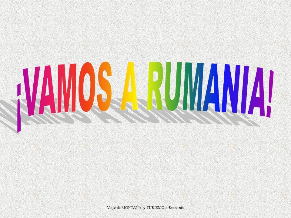 Viaje de MONTAÑA y TURISMO a Rumania