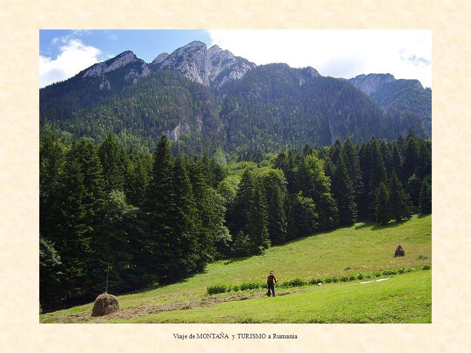 Viaje de MONTAÑA y TURISMO a Rumania ANDAR: SEIS jornadas.