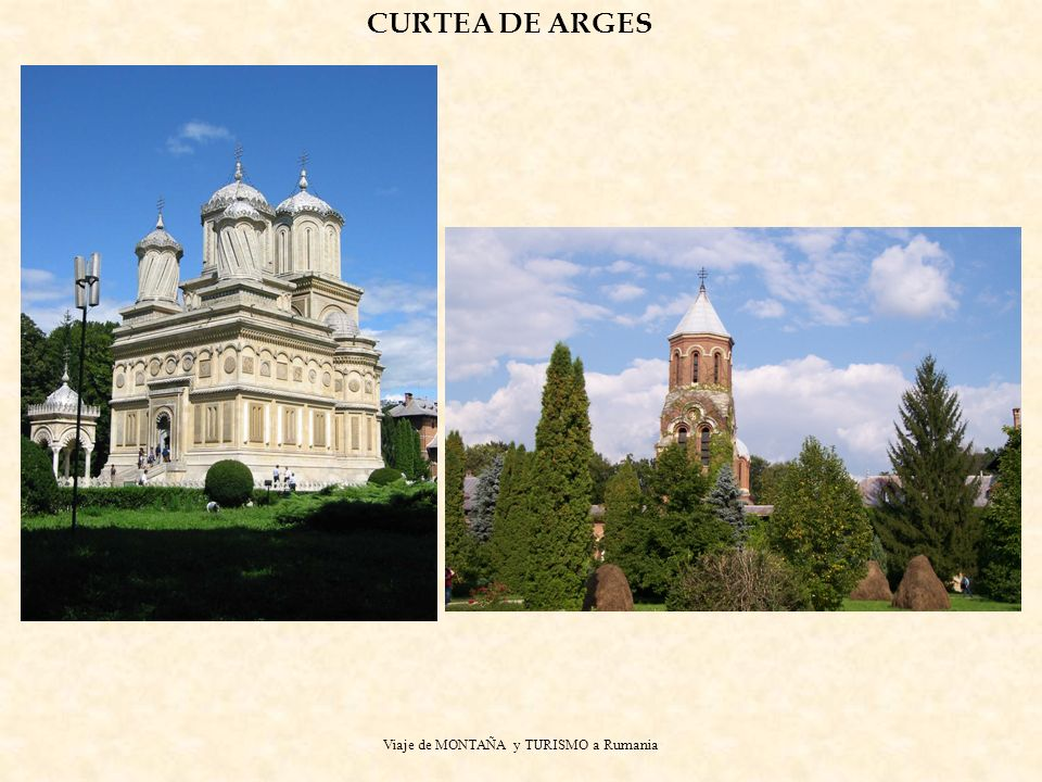 Viaje de MONTAÑA y TURISMO a Rumania CURTEA DE ARGES