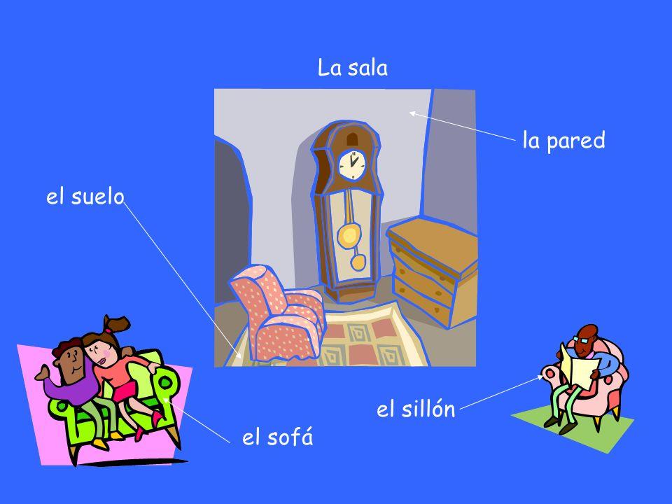 La Casa la puerta la ventana el garaje el jardín