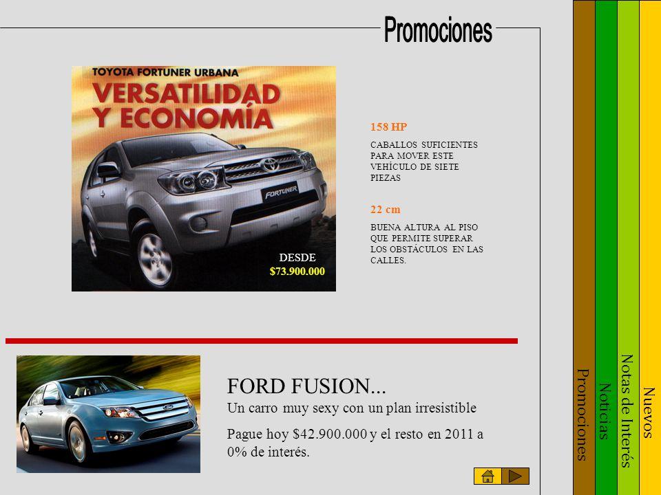 Noticias Notas de Interés Nuevos Promociones KYRON Versiones 4x2 y 4x4 Transmisión automática o mecánica.