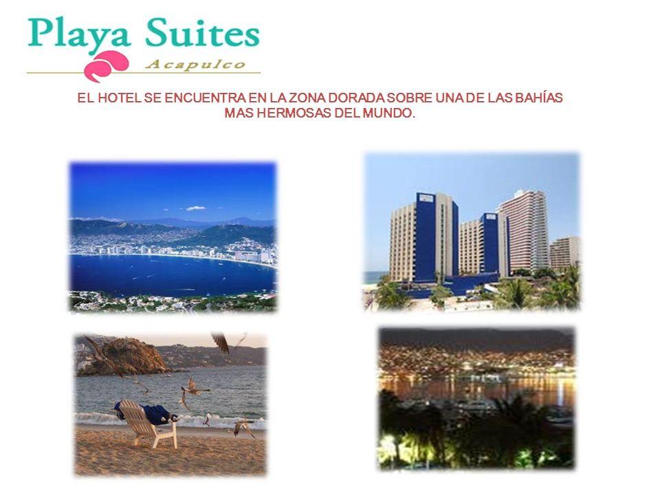 Antonio Banderas EL HOTEL SE ENCUENTRA EN LA ZONA DORADA SOBRE UNA DE LAS BAHÍAS MAS HERMOSAS DEL MUNDO.
