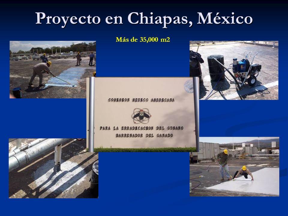 Proyecto en Chiapas, México Más de 35,000 m2