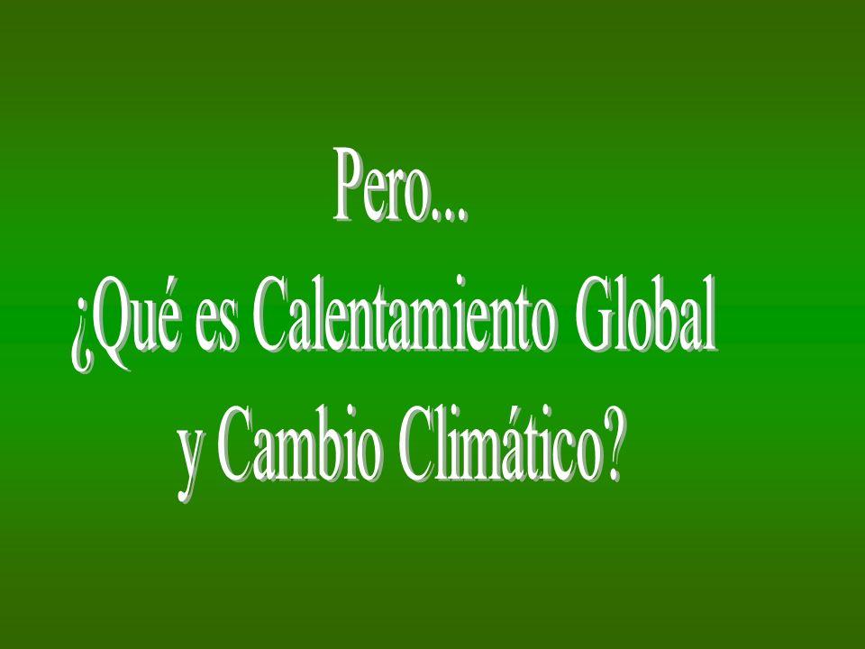 Calentamiento global es el incremento considerable de gases de efecto invernadero (CO 2, vapor de agua, metano) lo que ha ocasionado que la atmósfera terrestre retenga más calor de lo debido, aumentando, por consiguiente, la temperatura de la Tierra.
