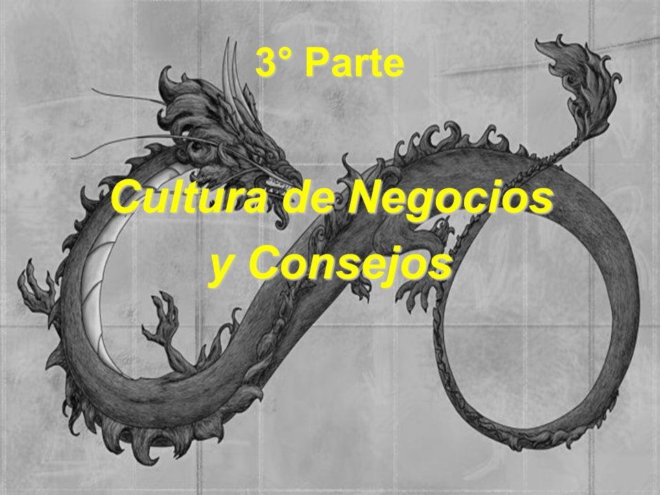 3° Parte Cultura de Negocios y Consejos
