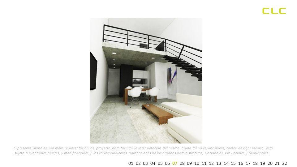 ESPECIFICACIONES TECNICAS ad referéndum de aprobación Municipal Dormitorio Paramentos interiores en grueso fratazado, enduído y terminados con pintura látex color blanco.