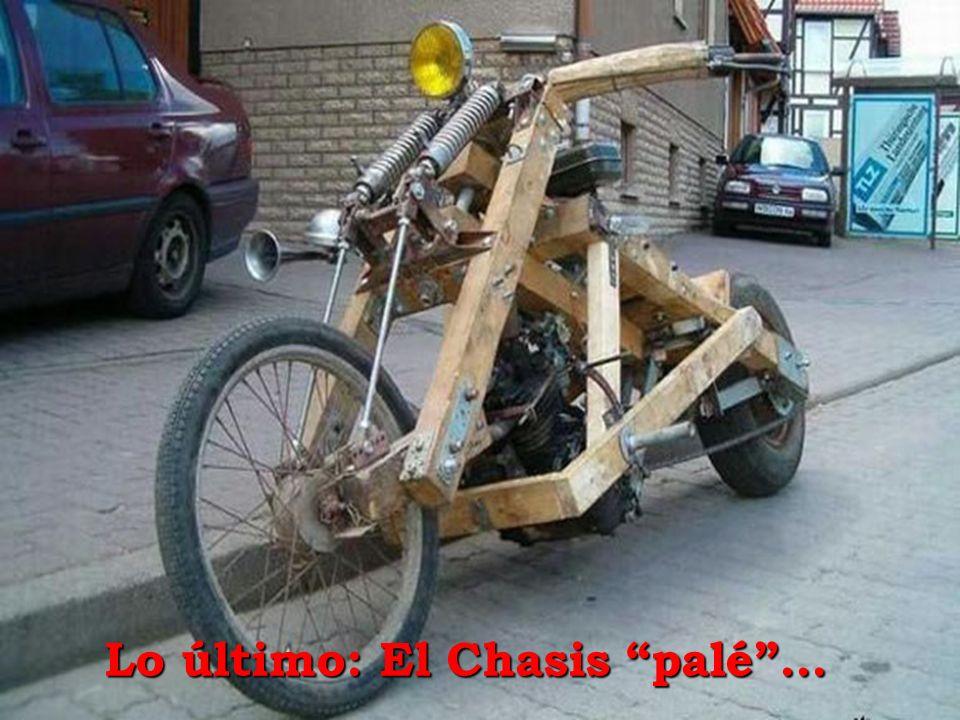 Lo último: El Chasis palé…