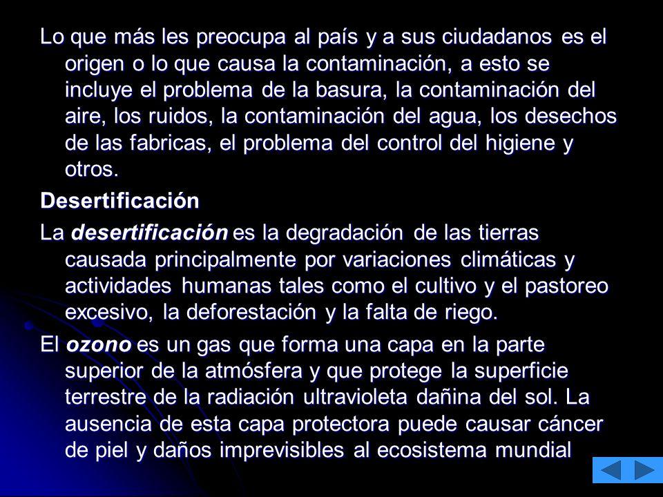 CONTAMINACIÓN ATMOSFÉRICA LLUVIA ÁCIDA