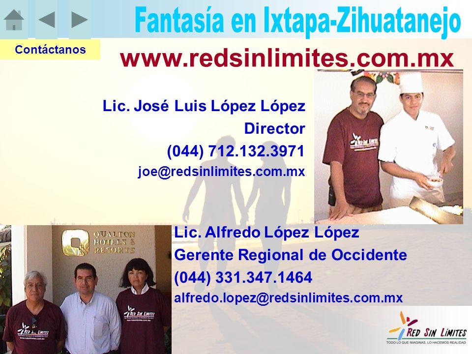 Lic. Alfredo López López Gerente Regional de Occidente (044) 331.347.1464 alfredo.lopez@redsinlimites.com.mx Contáctanos Lic. José Luis López López Di