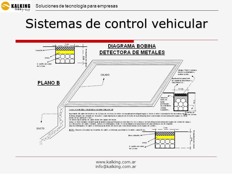 www.kalking.com.ar info@kalking.com.ar Soluciones de tecnología para empresas Sistemas de control vehicular