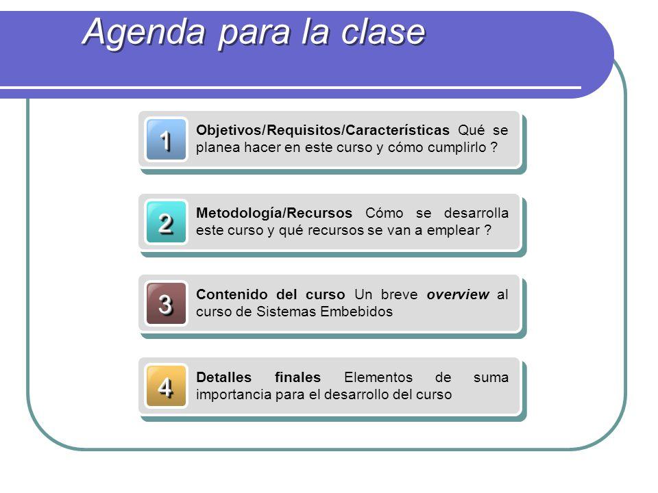 11 Objetivos/Requisitos/Características Qué se planea hacer en este curso y cómo cumplirlo .