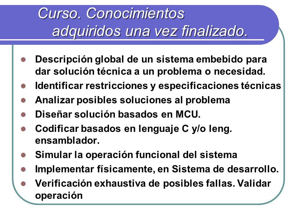 Objetivo/Requisitos y características.Carecterísiticas a cumplir.
