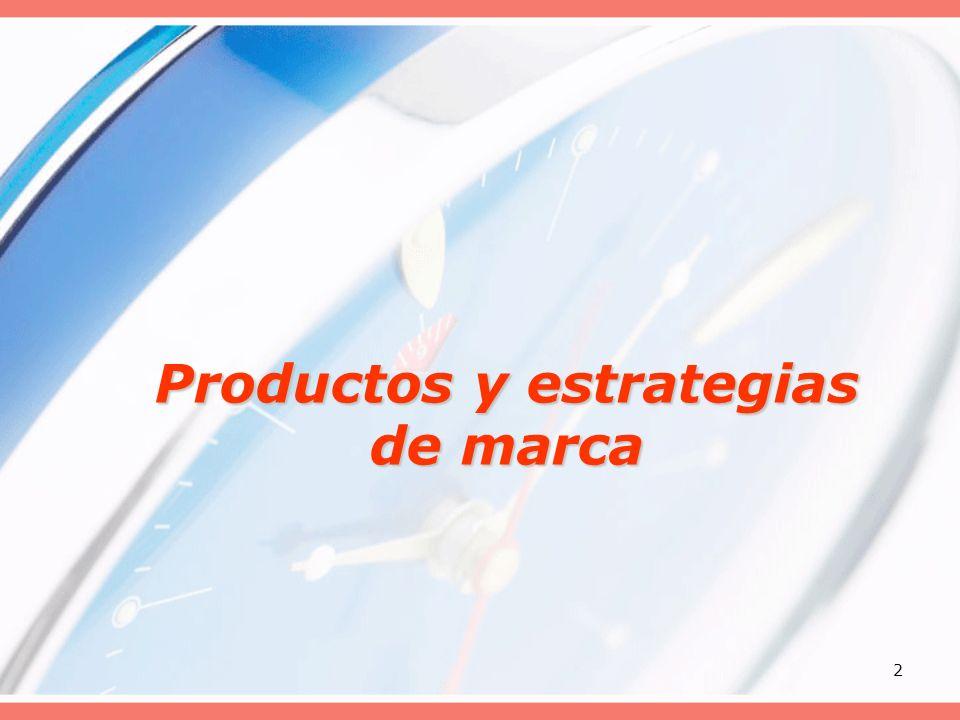 2 Productos y estrategias de marca
