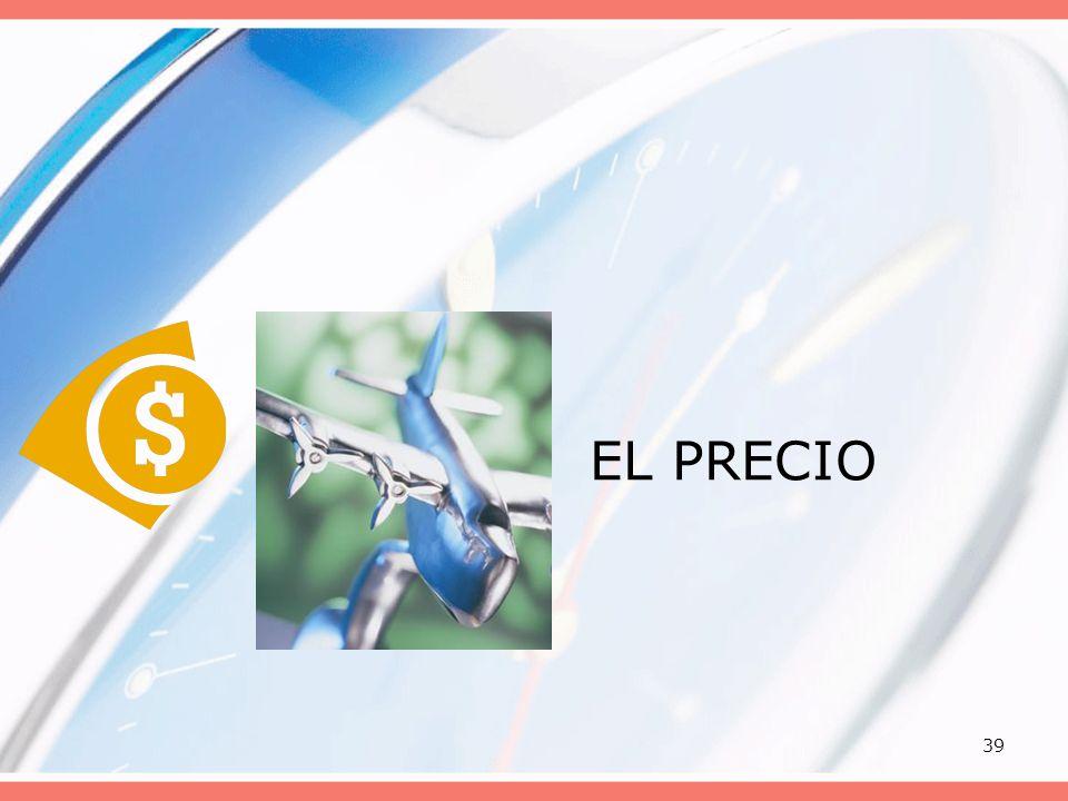 39 EL PRECIO