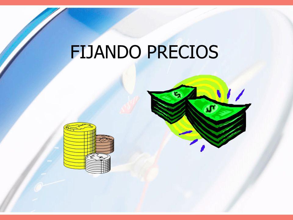 FIJANDO PRECIOS