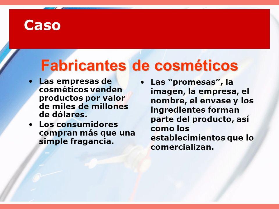 Decisiones relativas a productos y servicios Producto individual.