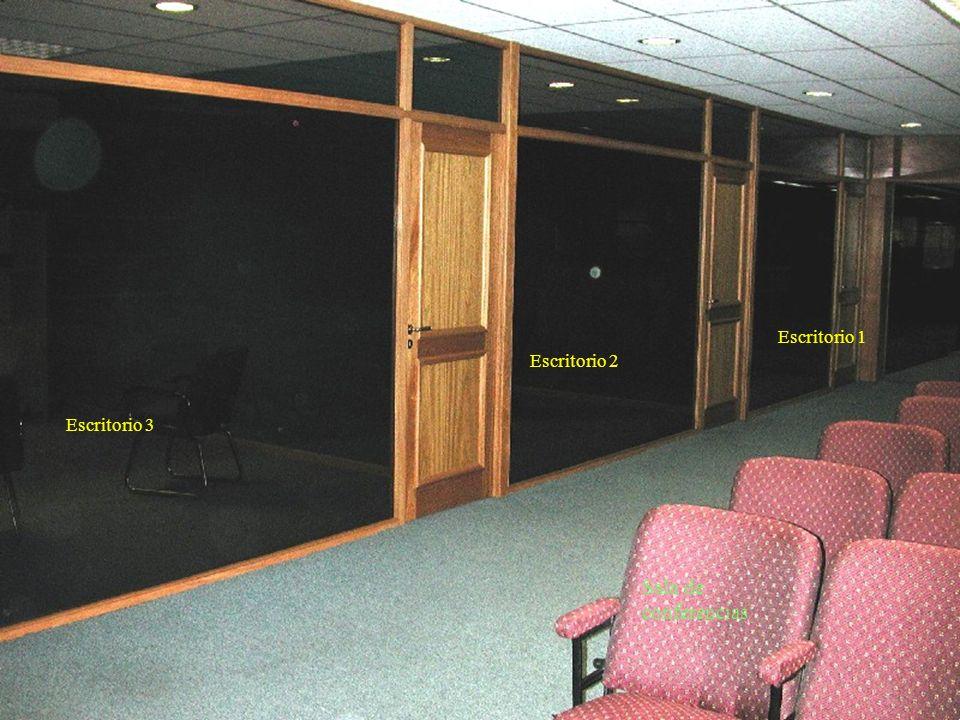 Sala de Reuniones Despacho abierto Escritorio Principal Recepción