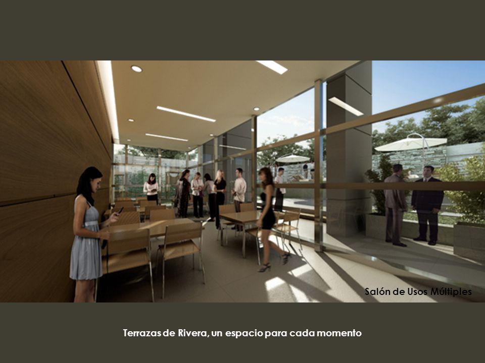 Terrazas de Rivera, un espacio para cada momento Salón de Usos Múltiples