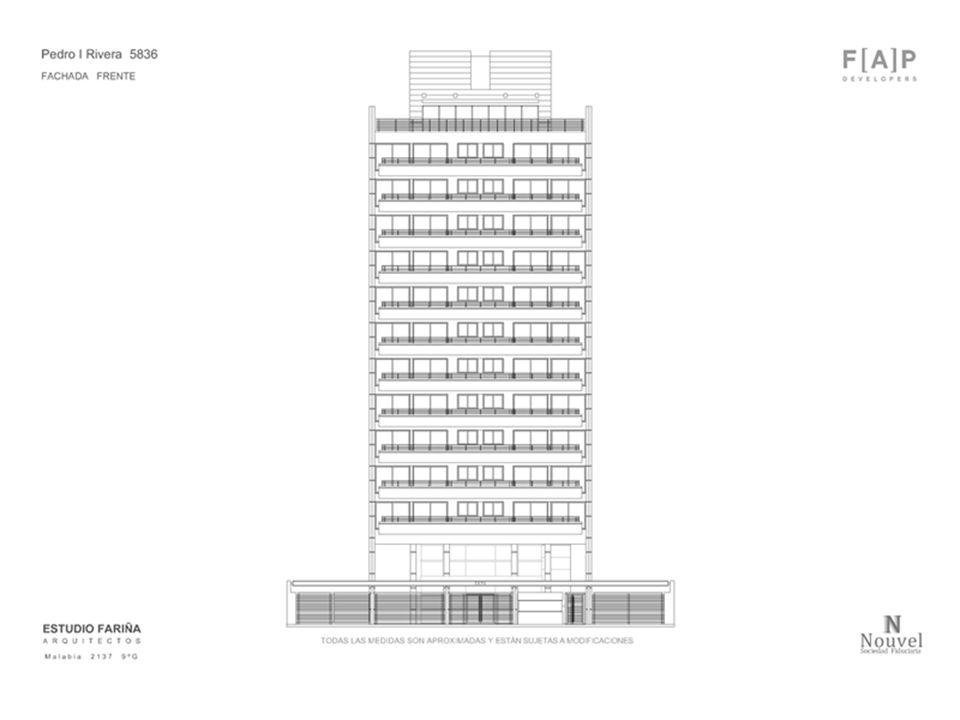 Terrazas de Rivera, un espacio para cada momento Semicubierto de acceso