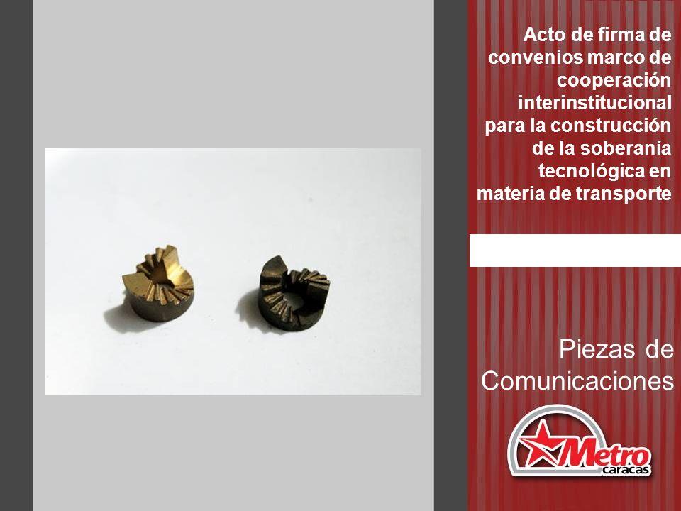 Piezas de Comunicaciones Acto de firma de convenios marco de cooperación interinstitucional para la construcción de la soberanía tecnológica en materi